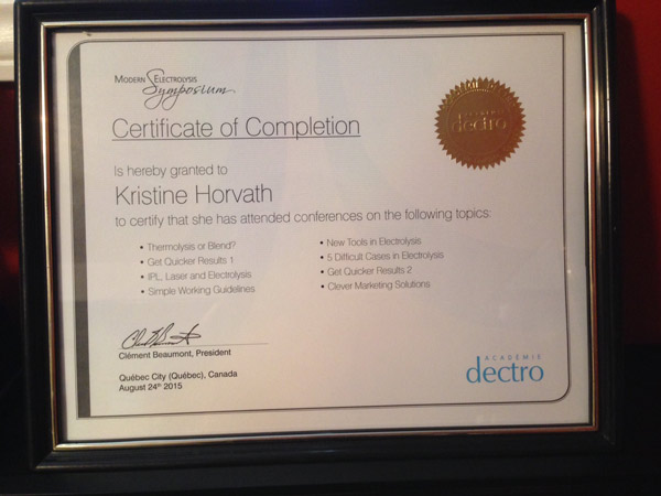 Specializing in Electrolysis | Hidden Gem Spa, Regina Sask